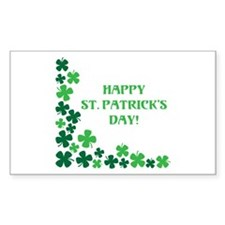 Happy St Patrick's Day Decal
