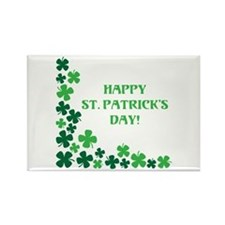 Happy St Patrick's Day Magnets