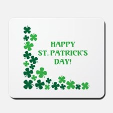 Happy St Patrick's Day Mousepad