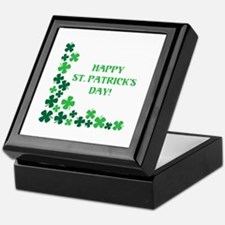 Happy St Patrick's Day Keepsake Box