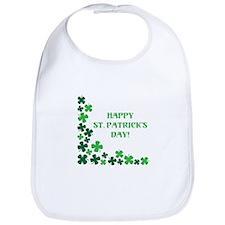 Happy St Patrick's Day Bib