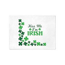 Kiss Me Im Irish 5'x7'Area Rug