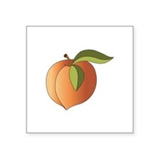 Ripe Peach Sticker