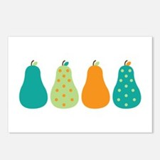 Pears Fruits Postcards (Package of 8)