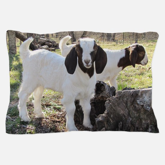 Cute Goat Pillow Case
