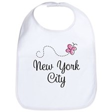 Funny New york city Bib