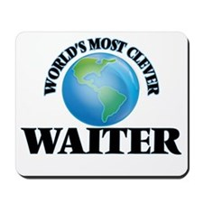 World's Most Clever Waiter Mousepad