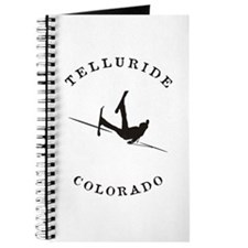 Telluride Colorado Funny Falling Skier Journal