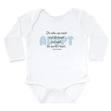 Unique Foster care Long Sleeve Infant Bodysuit