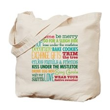 Christmas Rules Tote Bag