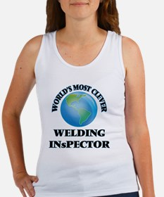 World's Most Clever Welding Inspector Tank Top