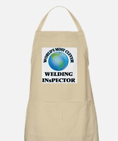 World's Most Clever Welding Inspector Apron