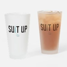 HIMYM Suit Up Drinking Glass