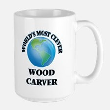 World's Most Clever Wood Carver Mugs