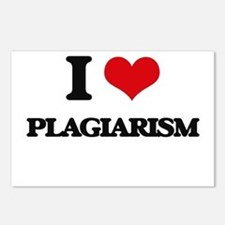 I Love Plagiarism Postcards (Package of 8)