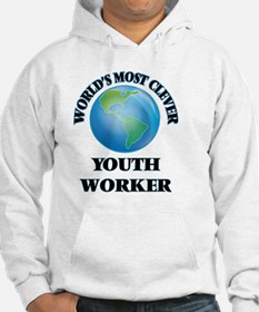 World's Most Clever Youth Worker Hoodie