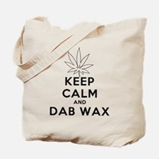 Keep Calm and Dab Wax art Tote Bag
