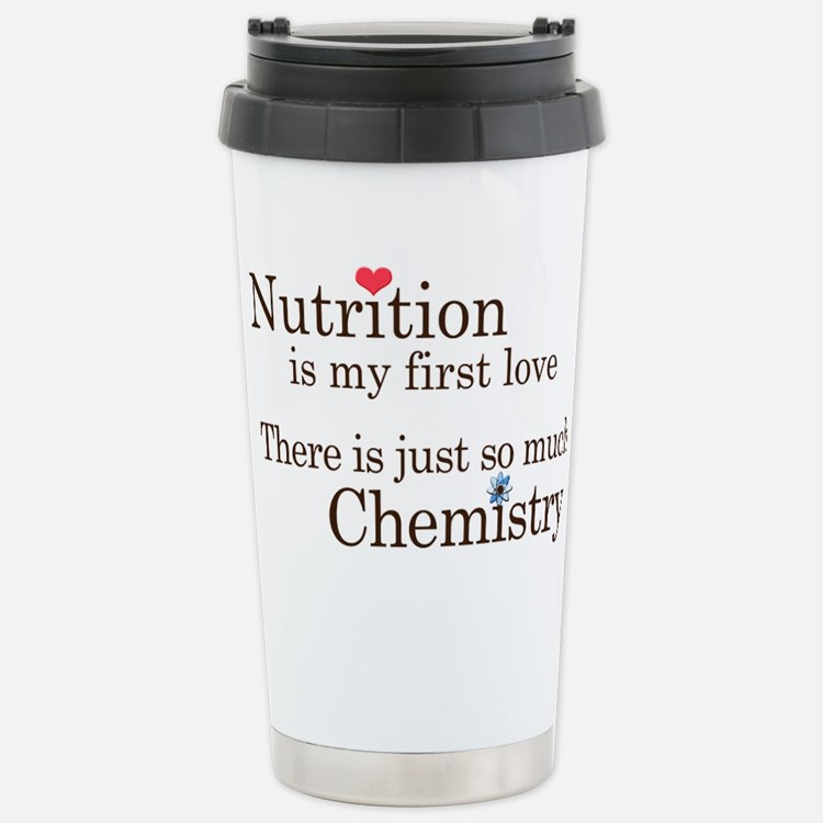 Cute Food nerd Travel Mug