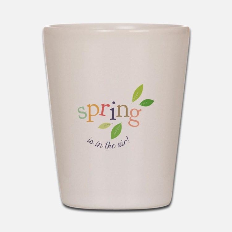 Spring In The Air Shot Glass