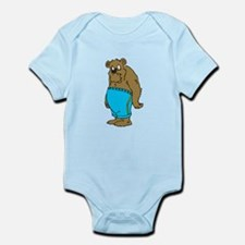 Bear In Shorts Body Suit