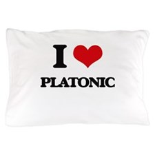 I Love Platonic Pillow Case