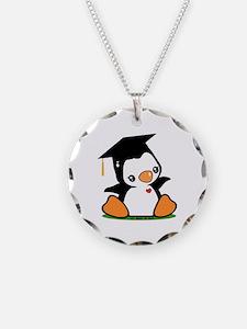 Graduation Penguin Necklace