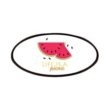 Life Is A Picnic Patches