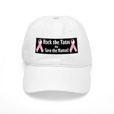Rock the Tatas to Save the Mamas Baseball Baseball Baseball Cap