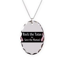 Rock the Tatas to Save the Mamas Necklace