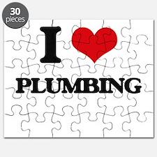 I Love Plumbing Puzzle