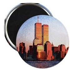 Twin Towers Magnet (10 pack)(small view accurate)