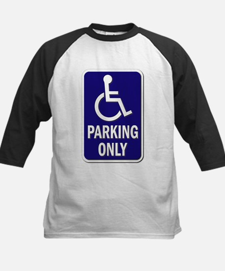 Parking Only - Sign without T Kids Baseball Jersey
