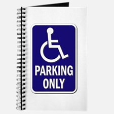 Parking Only - Sign Without Text Journal
