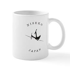 Niseko Japan Funny Falling Skier Mugs
