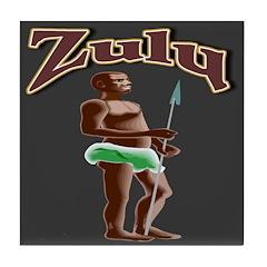 Zulu Tile Coaster