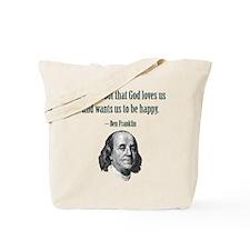 PROOF THAT GOT GOD LOVES Tote Bag