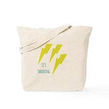 lightning_it s shocking Tote Bag