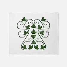 Ivy_Base Throw Blanket