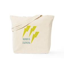 lightning_thunder and lightning Tote Bag