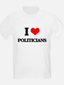 I Love Politicians T-Shirt