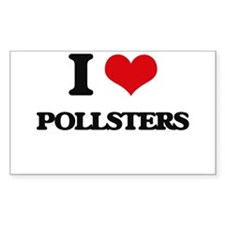 I Love Pollsters Decal