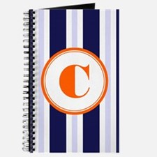 Orange C Monostripe Journal