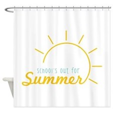 Schools Out Shower Curtain