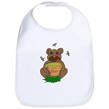 Bear And Honey Bib