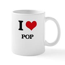 I Love Pop Mugs
