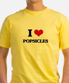 I Love Popsicles T-Shirt