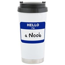 Cute Noob Travel Mug