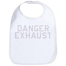 Danger Exhaust Military Bib