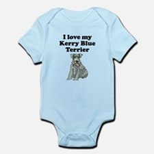I Love My Kerry Blue Terrier Body Suit