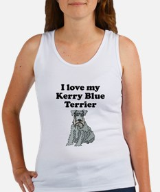 I Love My Kerry Blue Terrier Tank Top